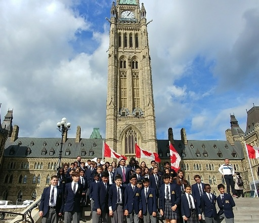 LRH Students visit with Mississauga MP in Ottawa