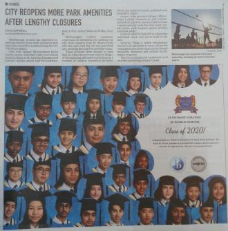 2020 Grads in the News